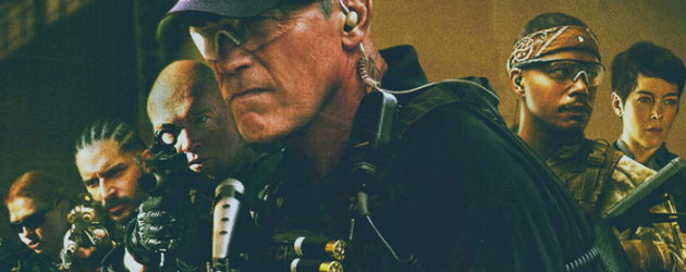 SABOTAGE gets a poster & new trailer – Arnold vs. The Cartel, END OF WATCH's David Ayer directs