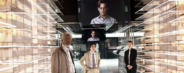 Teaser trailer(s) for Wally Pfister's TRANSCENDENCE – Johnny Depp becomes a sentient scientist
