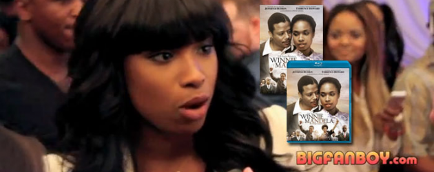 DVD/Blu-ray spotlight: WINNIE MANDELA – our Jennifer Hudson video interview on the red carpet