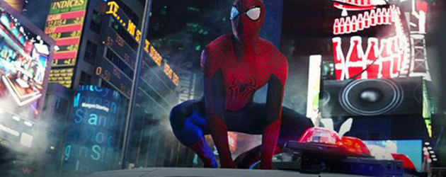 THE AMAZING SPIDER-MAN 2 Times Square clip – Spidey battles Electro in NYC, Stan Lee introduces