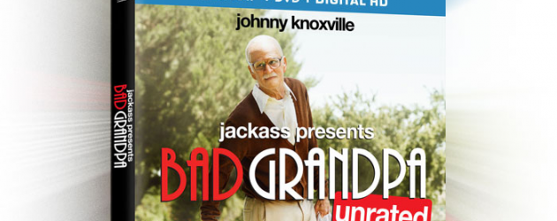Home Video of the Week – JACKASS PRESENTS: BAD GRANDPA starring Johnny Knoxville hits Blu-ray & DVD