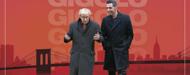 FADING GIGOLO new poster & trailer – John Turturro directs and stars alongside Woody Allen