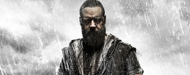 Snazzy new poster for Darren Aronofsky's NOAH starring Russell Crowe – UPDATED with Super Bowl spot!