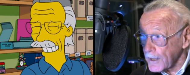 Video: Stan Lee & Harlan Ellison on THE SIMPSONS Sunday, plus Stan to be on AGENTS OF SHIELD