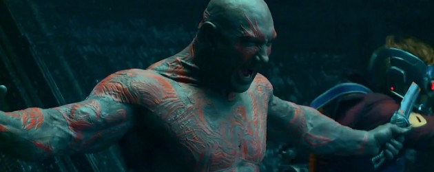 More GUARDIANS OF THE GALAXY featurettes focusing on Drax the Destroyer, Gamora and Star-Lord