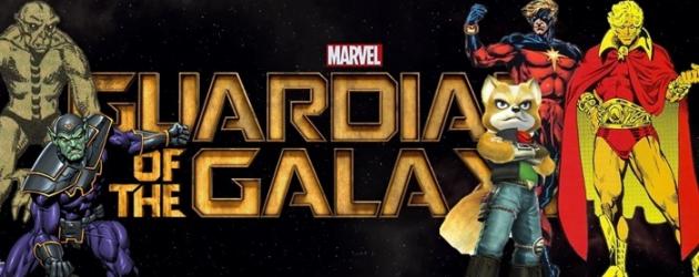James Gunn shares info regarding Guardians of the Galaxy.  Adam Warlock?  The Badoon?  Starfox???