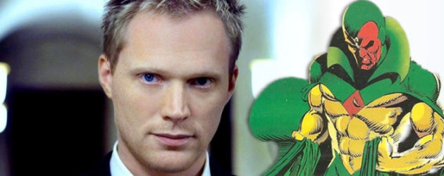 Paul Bettany to play THE VISION in AVENGERS: AGE OF ULTRON