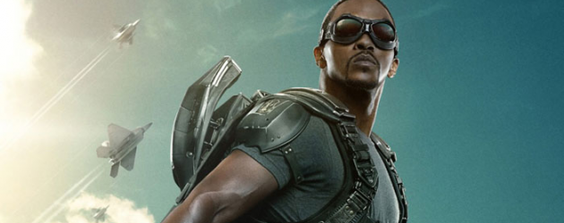 """CAPTAIN AMERICA: THE WINTER SOLDIER new """"Conspiracy"""" featurette & poster of Falcon"""