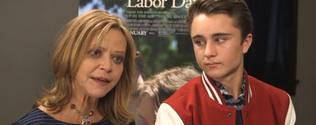 Video interview: LABOR DAY author Joyce Maynard and actor Gattlin Griffith