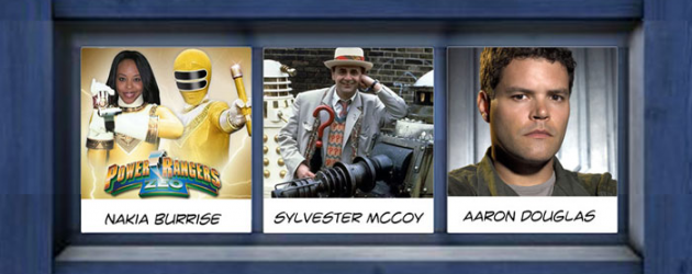Dallas Comic Con's SCI-FI EXPO video interviews: Aaron Douglas, Nakia Burisse & Sylvester McCoy