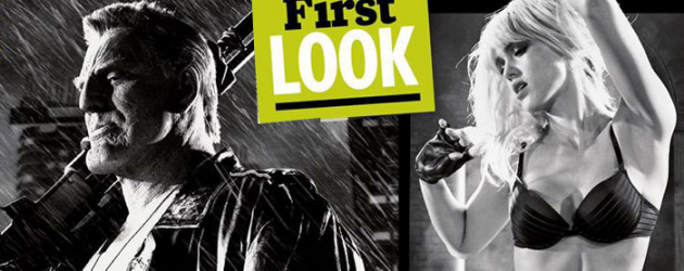 New SIN CITY: A DAME TO KILL FOR images of Jessica Alba, Joseph Gordon-Levitt & Mickey Rourke