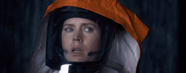 ARRIVAL review by Mark Walters – Amy Adams & Jeremy Renner make first contact with aliens