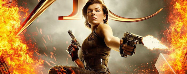 RESIDENT EVIL: THE FINAL CHAPTER teaser trailer & posters – Milla Jovovich comes home
