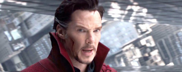 DOCTOR STRANGE Blu-ray review by Mark Walters – Marvel's weird hero works magic at home too