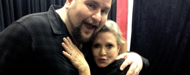 Carrie Fisher has passed away – a tribute to the Princess I was lucky enough to know a bit