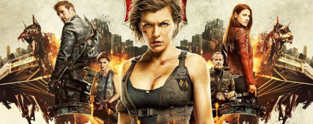 Win ROE passes + a RESIDENT EVIL: THE FINAL CHAPTER poster signed by Milla & others