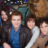 STAR WARS Han Solo film starring Alden Ehrenreich & Emilia Clarke, first cast photo
