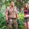 New JUMANJI: WELCOME TO THE JUNGLE trailer – Dwayne Johnson hits rock hard in this game