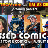 Dallas, come to I MISSED COMIC-CON at Zeus Comics (Aug 12)! Meet comic creators, get free stuff