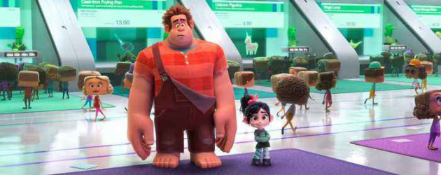 RALPH BREAKS THE INTERNET: WRECK-IT RALPH 2 new trailer & poster is never gonna give you up