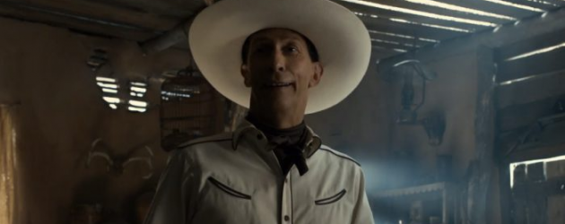 THE BALLAD OF BUSTER SCRUGGS trailer & poster – The Coen Brothers' latest is a Western