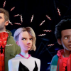 SPIDER-MAN: INTO THE SPIDER-VERSE clip – Miles, Peter and Spider-Gwen meet Noir & Spider-Ham