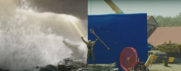AQUAMAN visual effects video shows how they made some of that underwater magic