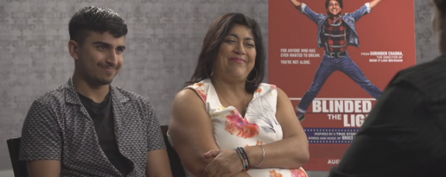 BLINDED BY THE LIGHT interview with writer/director Gurinder Chadha & actor Aaron Phagura