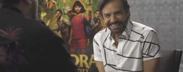 Eugenio Derbez video interview – the beloved actor on his DORA AND THE LOST CITY OF GOLD role