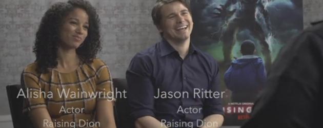 RAISING DION interviews with Alisha Wainwright and Jason Ritter – new Netflix 2019 series