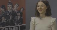 JOJO RABBIT interview with Thomasin McKenzie on playing Elsa, and working with Taika Waititi