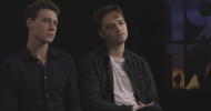 1917 interview with lead actors George MacKay and Dean-Charles Chapman