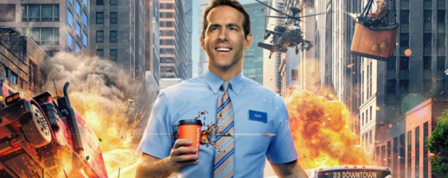 FREE GUY trailer – Ryan Reynolds is living in a video game world, and just broke the rules