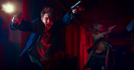 GUNS AKIMBO clip – Daniel Radcliffe must run and fight with guns bolted to his hands