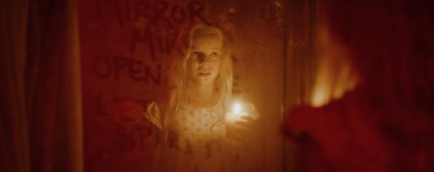 BEHIND YOU trailer – when a creepy mirror has writing on it, please don't read it out loud