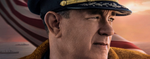 GREYHOUND trailer – Tom Hanks writes and stars in this WWII ocean-set Navy thriller