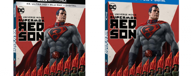 SUPERMAN: RED SON 4K Blu-ray review – the DC Elseworlds series gets an animated treatment