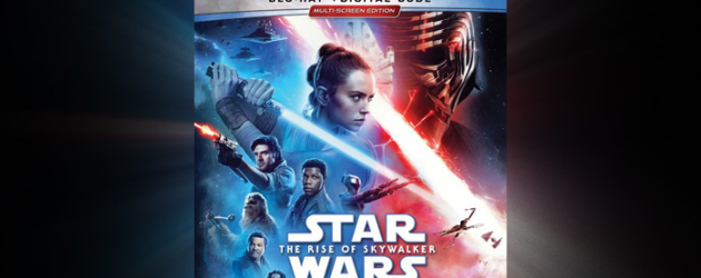 Enter to win a Blu-ray copy of STAR WARS: THE RISE OF SKYWALKER – out this week!