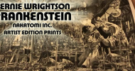 Product Review: Nakatomi Inc's new Bernie Wrightson FRANKENSTEIN art prints are exquisite