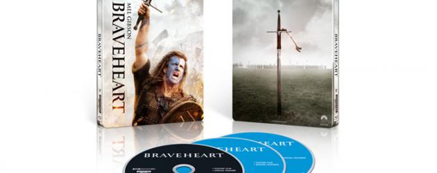 Celebrate BRAVEHEART's 25th Anniversary 4K Blu-ray Steelbook – enter to win a digital code
