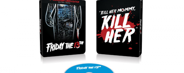 Celebrate FRIDAY THE 13TH's 40th Anniversary Blu-ray Steelbook – enter to win a digital code