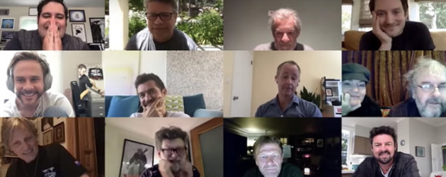 Watch Josh Gad reunite THE LORD OF THE RINGS cast & crew for an online chat session