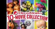 Enter to win a DreamWorks 10-MOVIE COLLECTION now on Blu-ray from Universal Home Entertainment