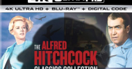 Enter to win THE ALFRED HITCHCOCK CLASSICS Collection on 4K Blu-ray from Universal Home Ent