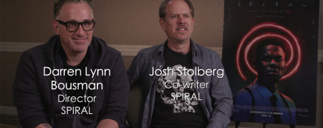 SPIRAL: FROM THE BOOK OF SAW interview with director Darren Lynn Bousman & co-writer Josh Stolberg