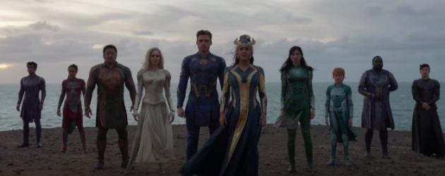 Marvel's ETERNALS new trailer – turns out the Thanos snap is directly connected to their arrival