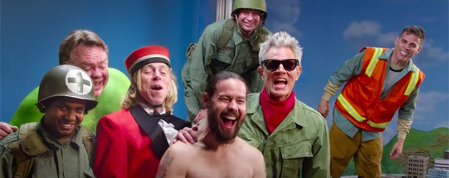 JACKASS FOREVER trailer – Johnny Knoxville & pals apparently aren't too old for this silliness