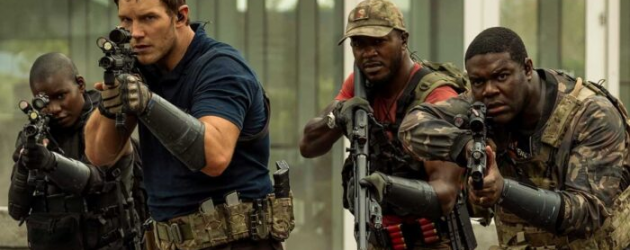 THE TOMORROW WAR review by Mark Walters – Chris Pratt headlines a time travel thriller