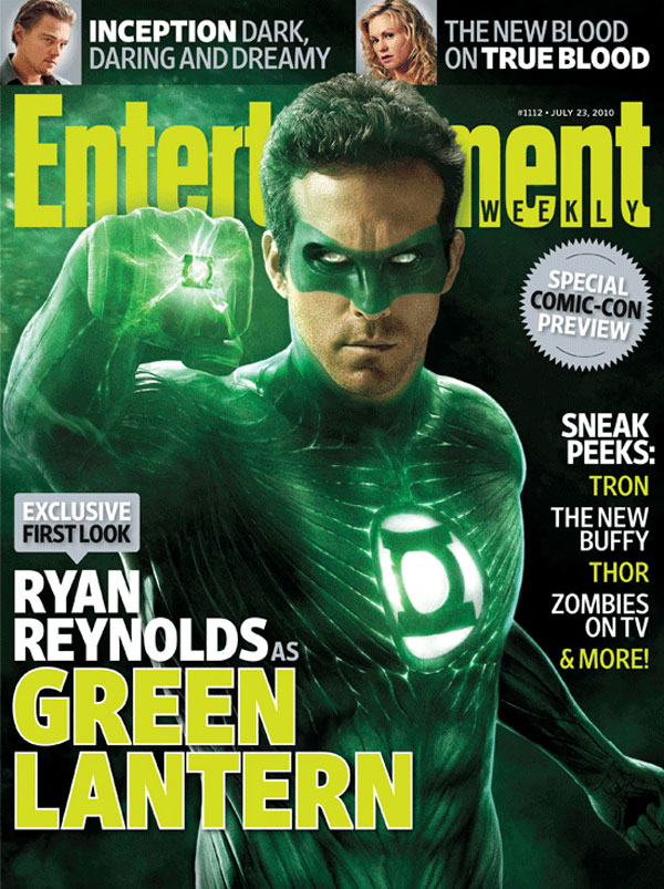 ryan reynolds green lantern suit. Ryan Reynolds as GREEN