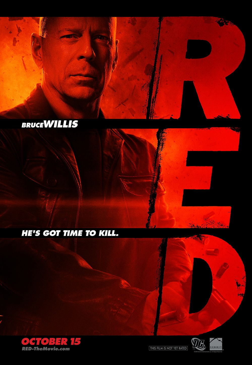 new theatrical poster for red � and if you missed it